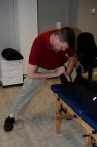 Adjustment of the navicular bone