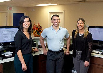 Photo of our Front Desk Crew