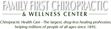 Family First Chiropractic and Wellness Center logo - Home