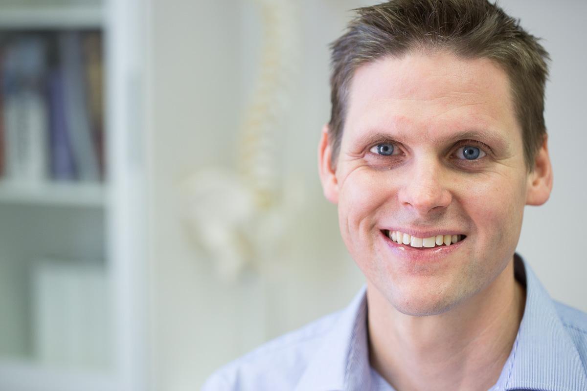 Back pain chiropractor Dr Luke Tassell