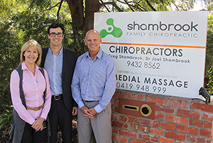 Welcome to Shambrook Chiropractic in Greensborough