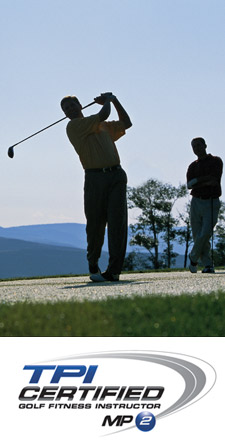 Dr. Dale Byrne in South Calgary offers golf fitness and injury help.