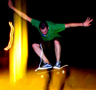 Skateboarding can be a real thrill