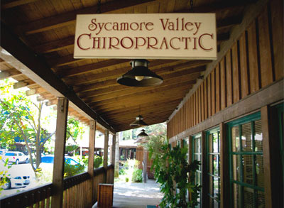 Sycamore Valley Chiropractic Sign