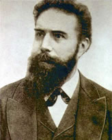 Wilhelm Roentgen won the Nobel Prize for Physics in 1901 for the discovery of the X-ray.