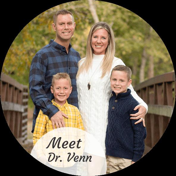 Dr. Venn with family