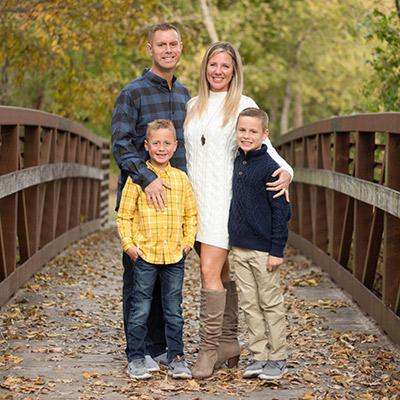 Dr. Jason Venn and family
