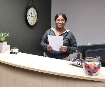 Front Desk and Natural Chiropractic Center staff