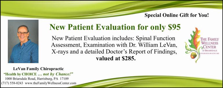 New Patient Evaluation Special