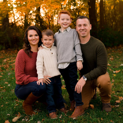 Hanson family fall Picture 2020