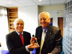 Dr. Kevin Proudman and Dr. Paul Pringle