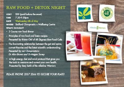 Raw Food Detox Night