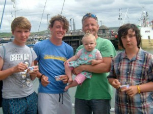 Worthing Chiropractor Rowen, Ivy & boys on holiday in Cornwall 2013