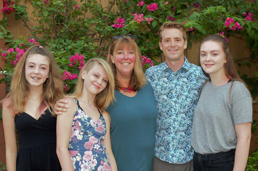 Dr. Rumpel and his family.