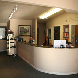 Front Desk at Boise Sports Chiropractic Clinic