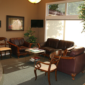 Waiting Room at Boise Sports Chiropractic Clinic