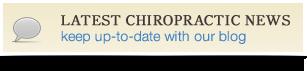 Latest Chiropractic News