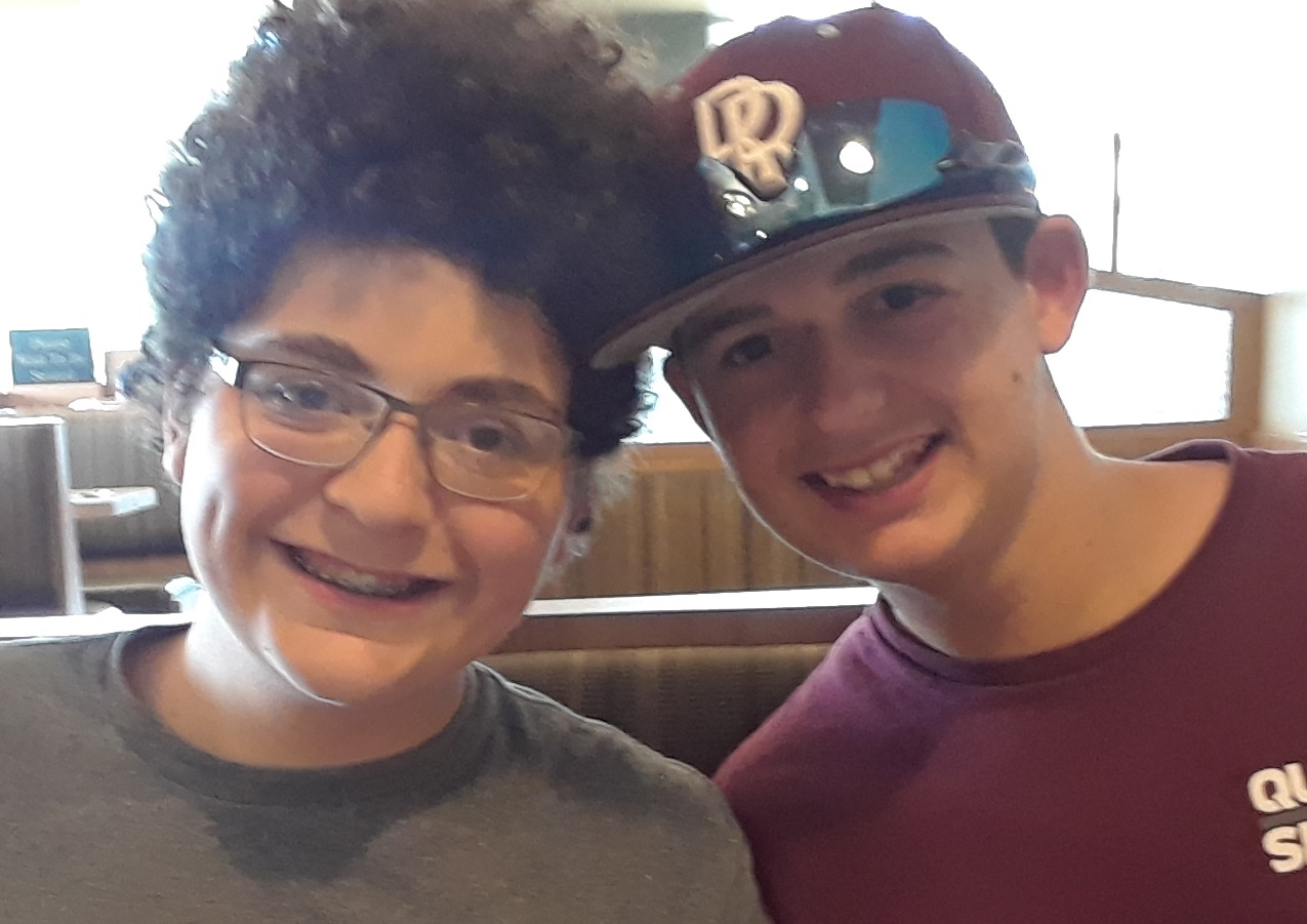 Dr. Kevin's two sons, Levi & Zac