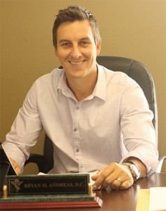 Troy Chiropractor, Dr. Bryan Andreas