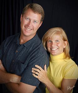 Dr. Gina and Bryan Riecker