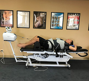 hattanooga Triton DTS TRT-600 spine therapy table