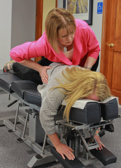 Adjustments at Broadway Family Chiropractic