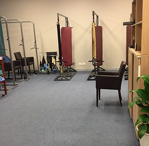 Photo of our CBP treatment room