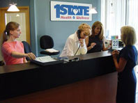 First State front desk