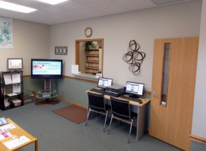 Inside Welcome to our Marion Chiropractic office.