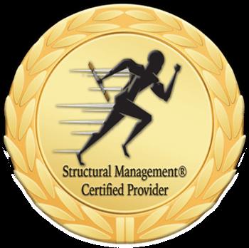Structural Management Certified award banner