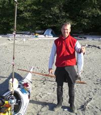 Dr. Janek Kayaking