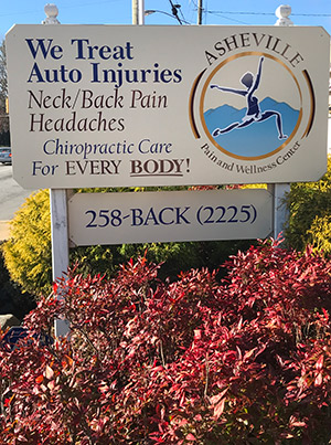 Asheville Pain and Wellness Center Sign