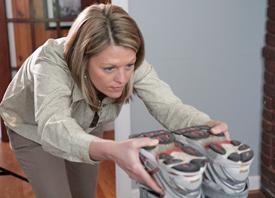 Dr. Terri adjusting a patient
