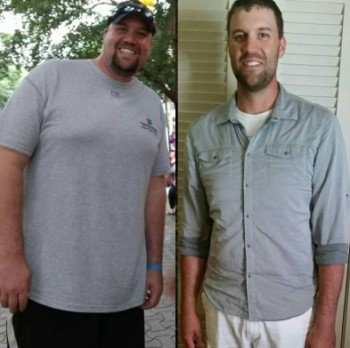 Andy Weight Loss comparison image