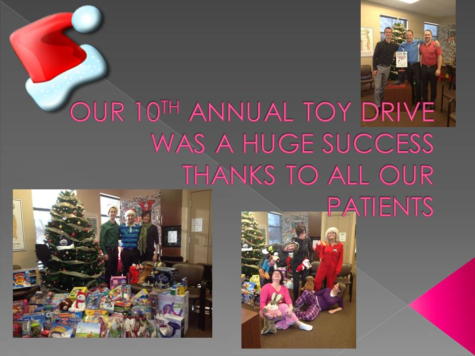 Brisbin Family Chiropractic helps donate toys for needy kids