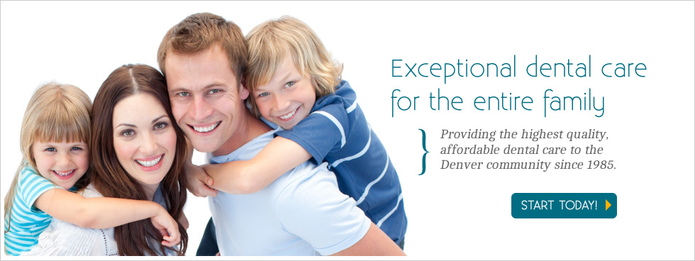 Exceptional dental care for the entire family