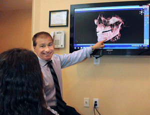 Our dentists will help you understand what is going on in your mouth