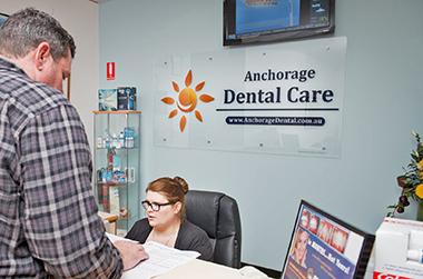 Anchorage Dental Care Front Desk