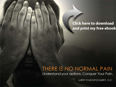 There is No Normal Pain, by Larry Montgomery