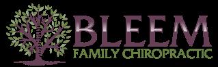 Bleem Family Chiropractic logo - Home