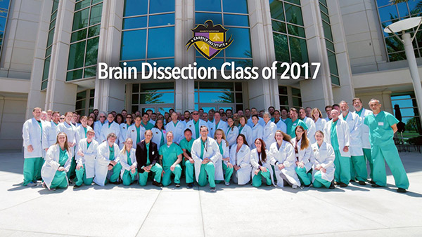 Brain Dissection Class of 2017