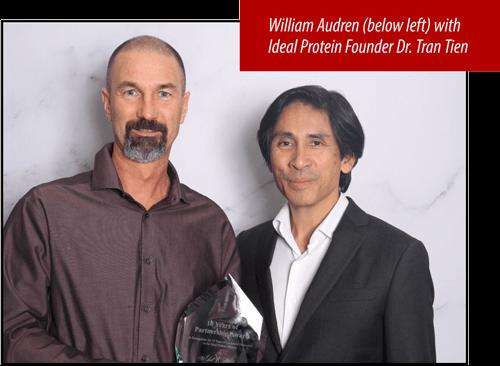 William Audren and Dr. Tran Tien