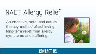 NAET Allergy Relief