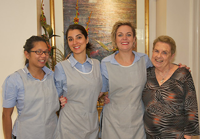 The staff at Collins Street Dental