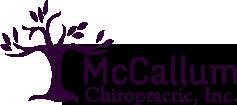 McCallum Chiropractic, Inc. logo - Home