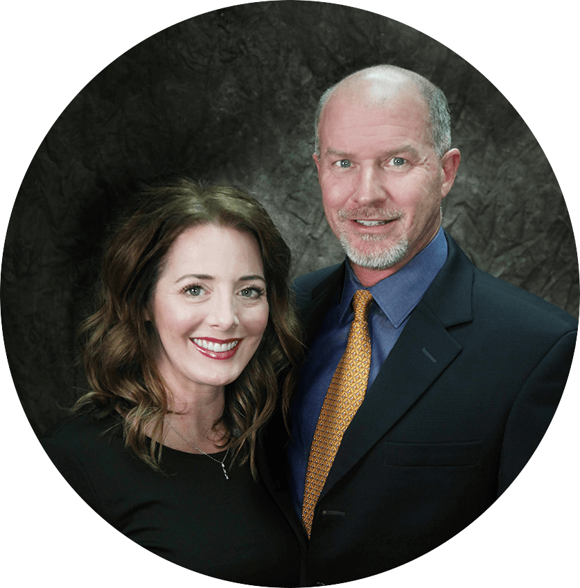 Dr. Chris West and his wife