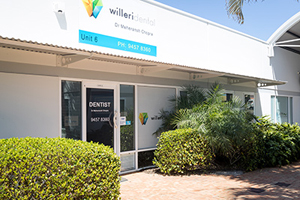 Willeri Dental entrance
