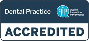 QIP Accredited Dental Practice Logo