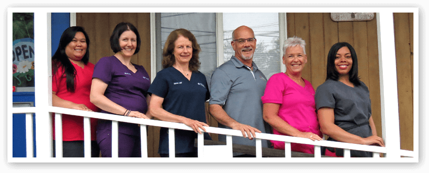 The team at Four Winds Chiropractic