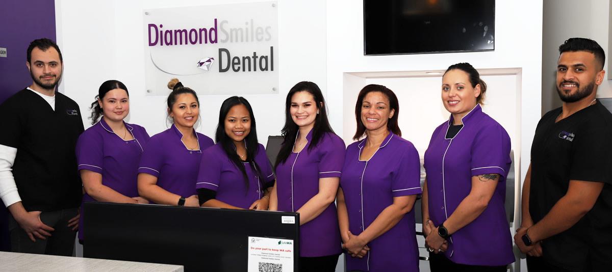 The team at Diamond Smiles Dental